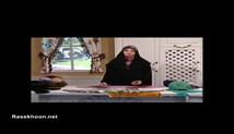 آموزش بافتنی خانم یاوری در برنامه خانواده یک - آموزش رومیزی