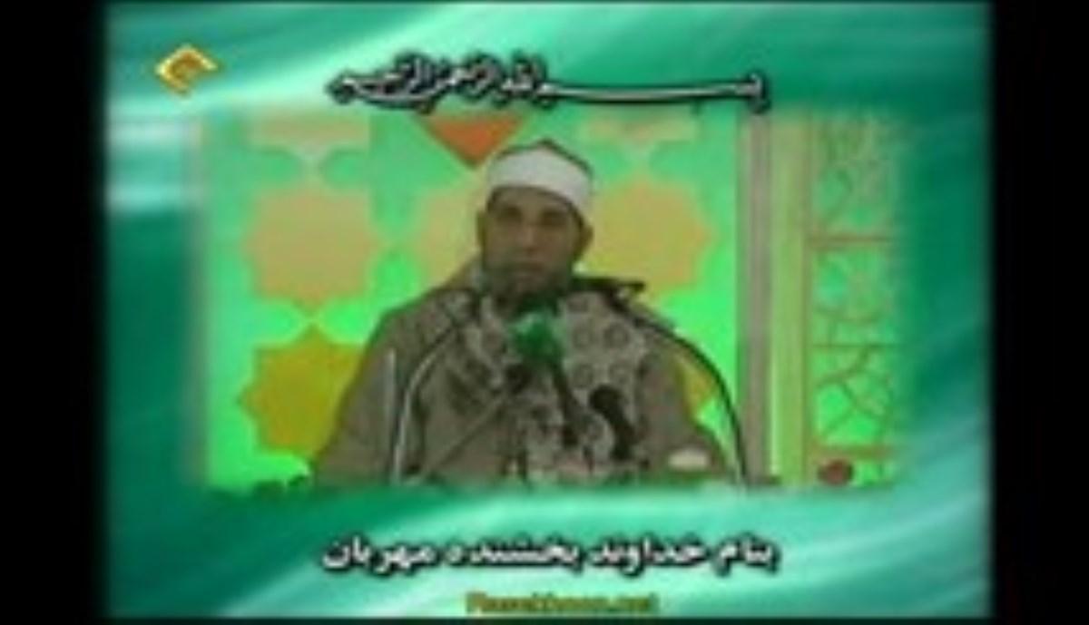 عبدالفتاح علی الطاروطی - تلاوت مجلسی سوره مبارکه حجرات آیات 6-8 - صوتی