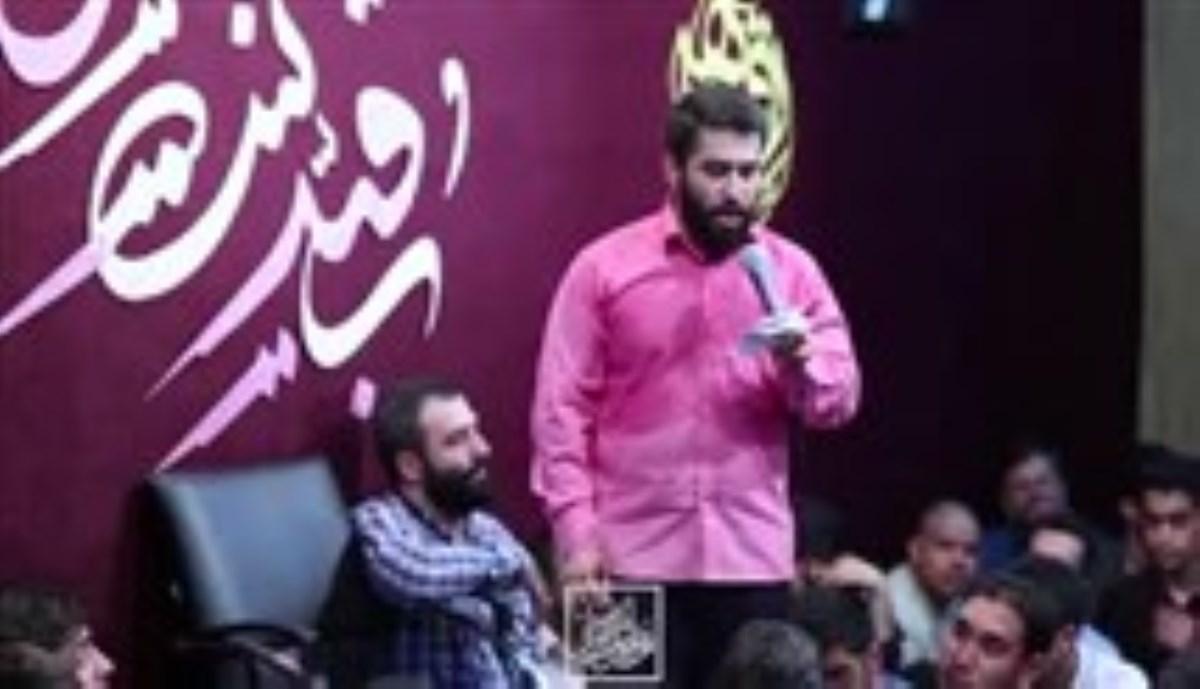 کربلایی حسین طاهری- شب چهارم ماه رمضان المبارک 1397 -چهل ساله میسوزم (زمینه جدید)