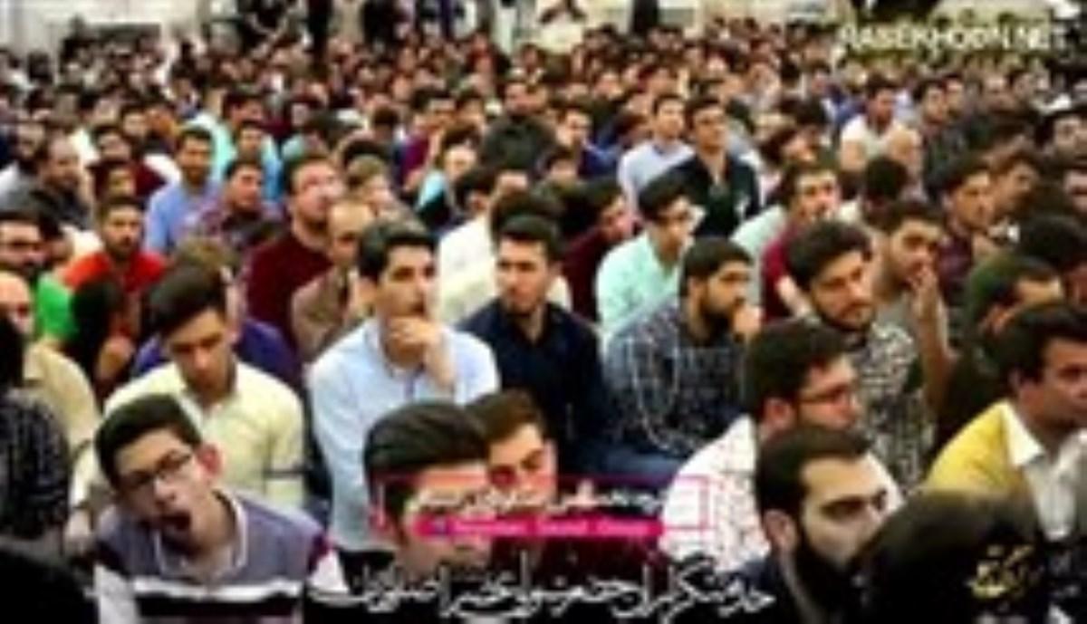 کربلایی محمدحسین حدادیان- روز چهارم محرم سال1397- مگه بی دعوتم اومدم (شور جدید)