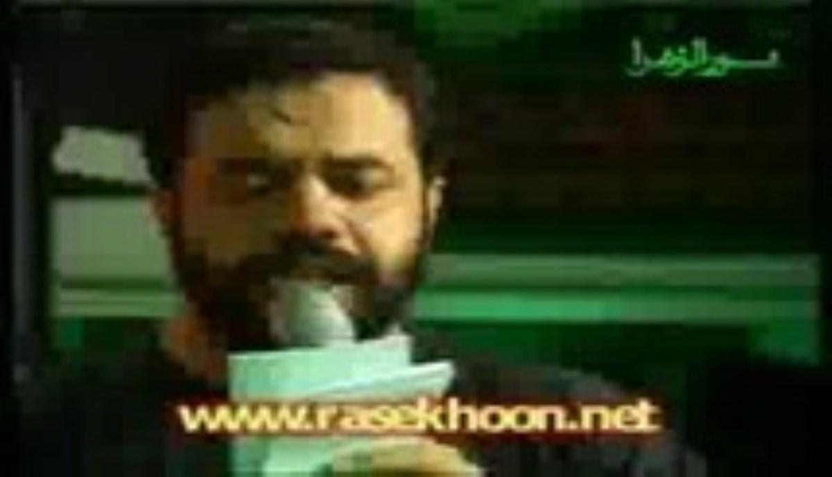 حاج محمود کریمی - شب عاشورای محرم 93 - الهادی - روضه اباعبدالله الحسین علیه السلام