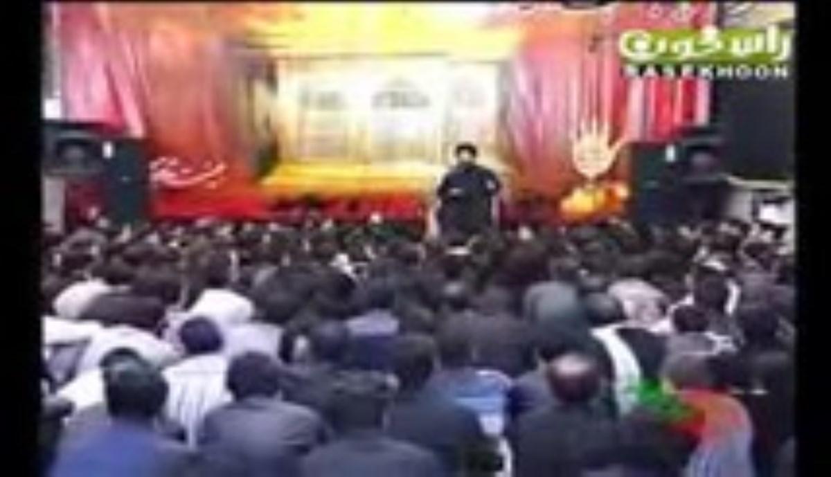 حجت الاسلام مؤمنی - مجبت امام حسین علیه السلام