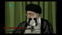 سخنرانی شهاب حسینی در حضور رهبر معظم انقلاب