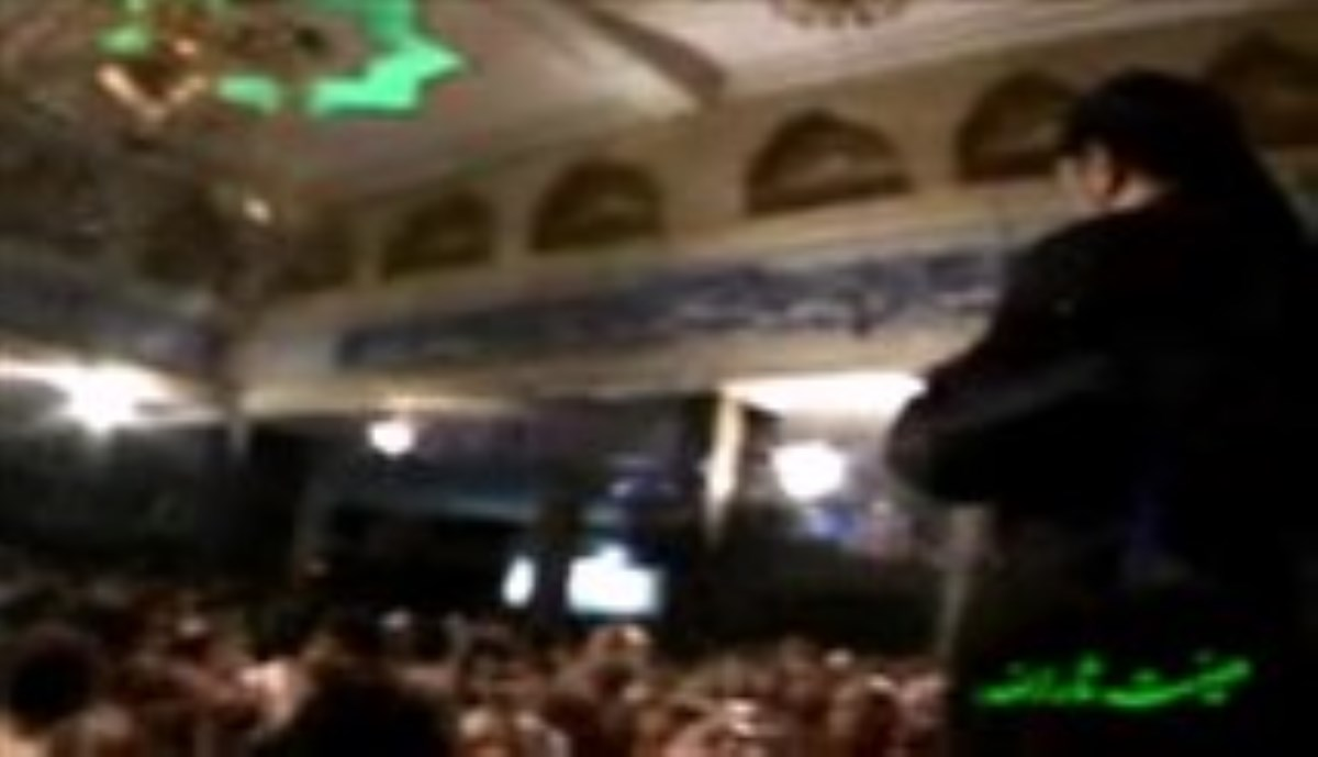 حاج محمود کریمی - شب ششم رمضان 93 - آه از آن ساعتی که با تن چاک چاک (روضه)