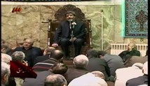 حاج مهدی سماواتی - روز اول محرم سال 96 - روضه حضرت مسلم علیه السلام