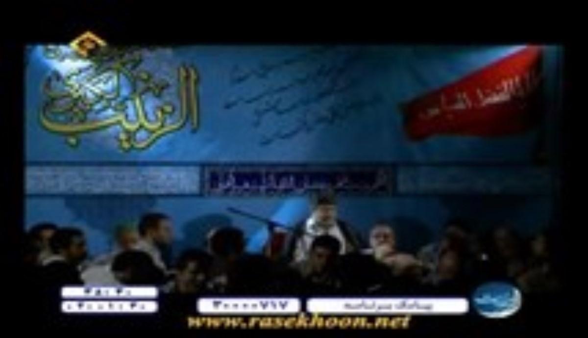 حاج محمدرضا طاهری - شب بیست و هشتم صفر المعظم 1396 - داری میری از کنارم (روضه)