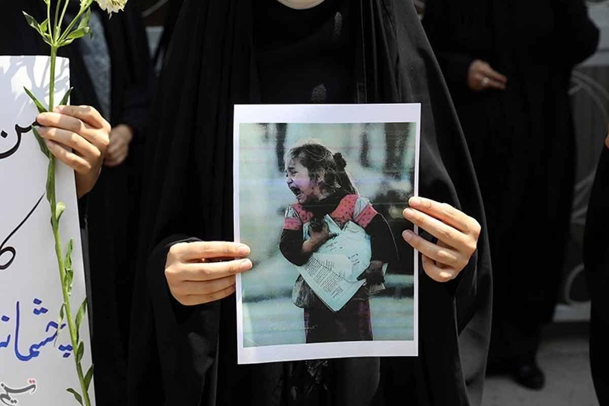 تسلیت شهادت کودکان مدرسه سید الشهدا افغانستان(شیعیان هزاره)   استوری