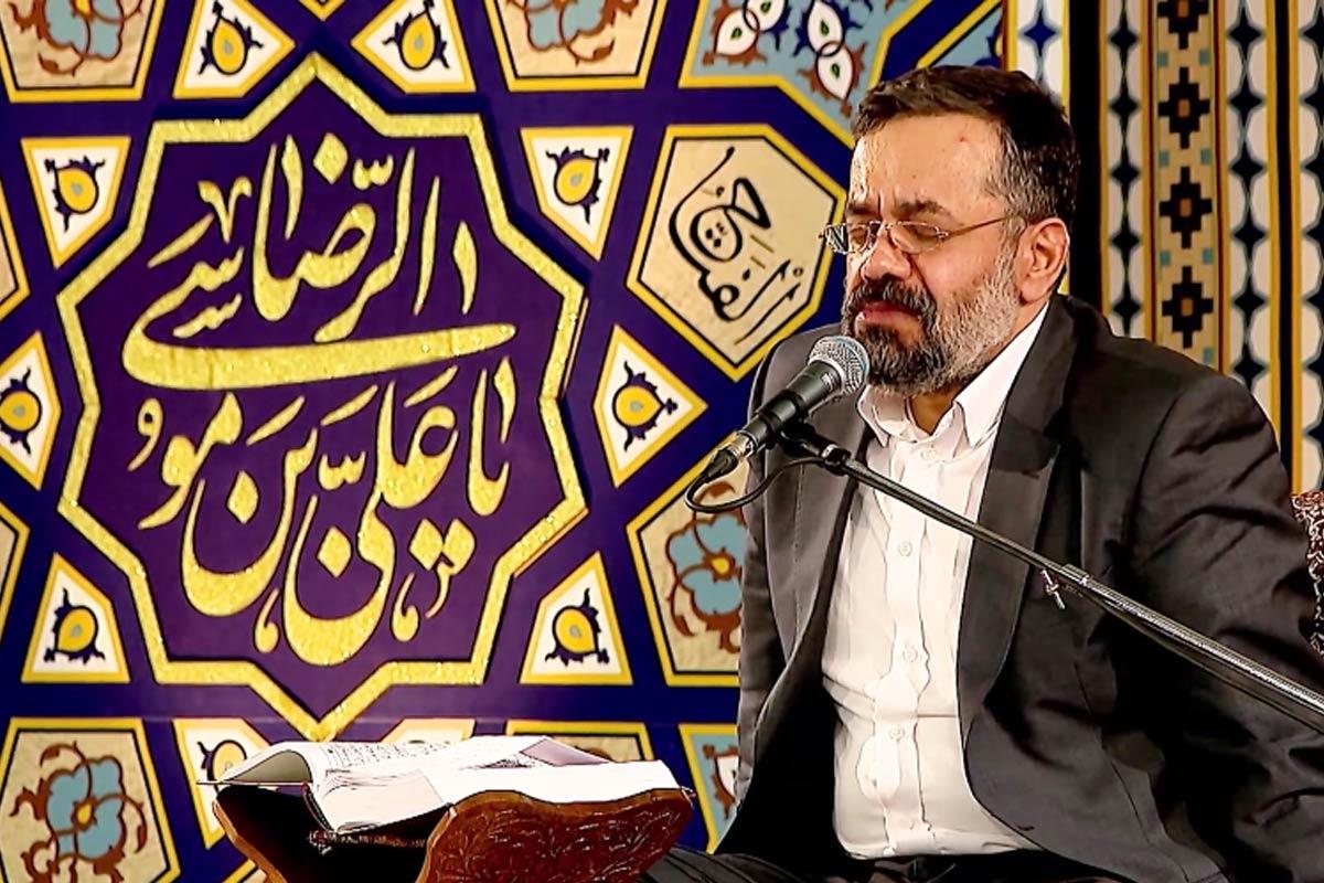 مداحی ماه رمضان1399/ کریمی: قرائت دعای ابوحمزه ثمالی