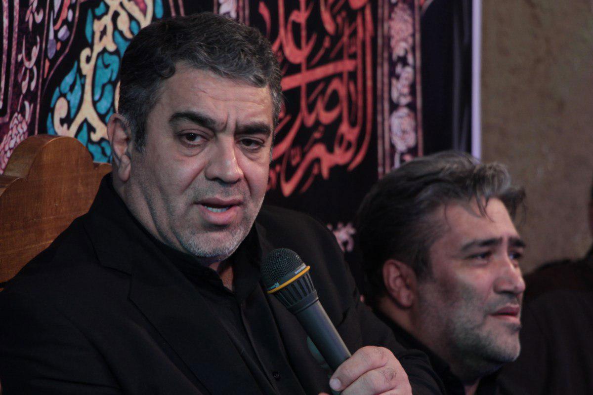 ای مادر حسین و حسن ام زینبین/ روضه حاج حسن خلج