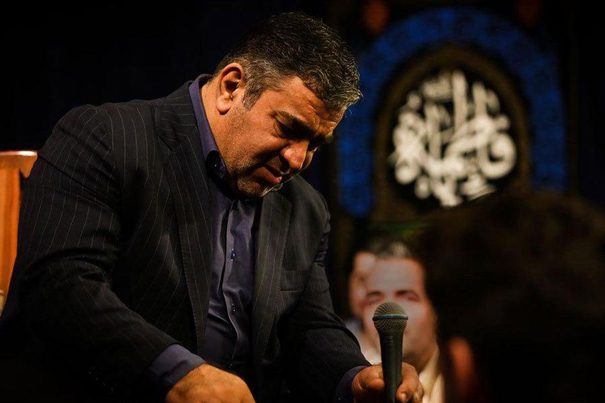 در خواب تو را دیدم و از خواب پریدم/ روضه خوانی حاج حسن خلج
