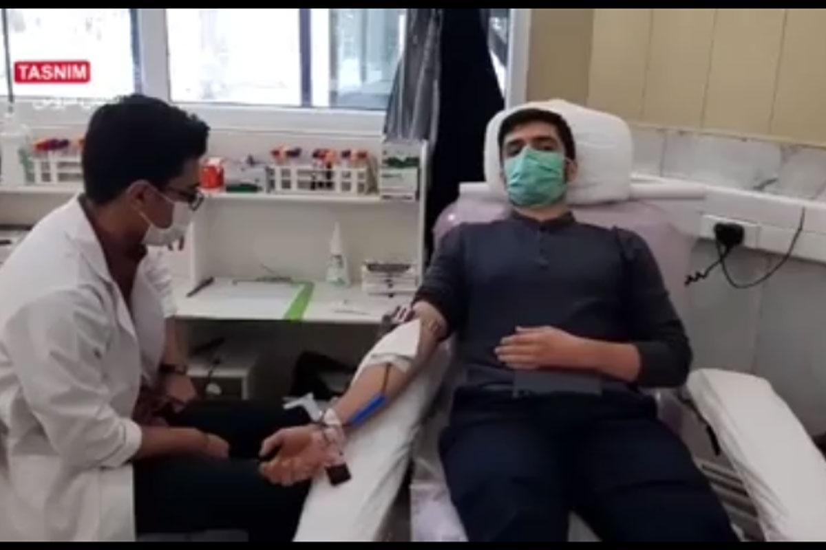 حضور جهادی مردم قزوین در سازمان انتقال خون