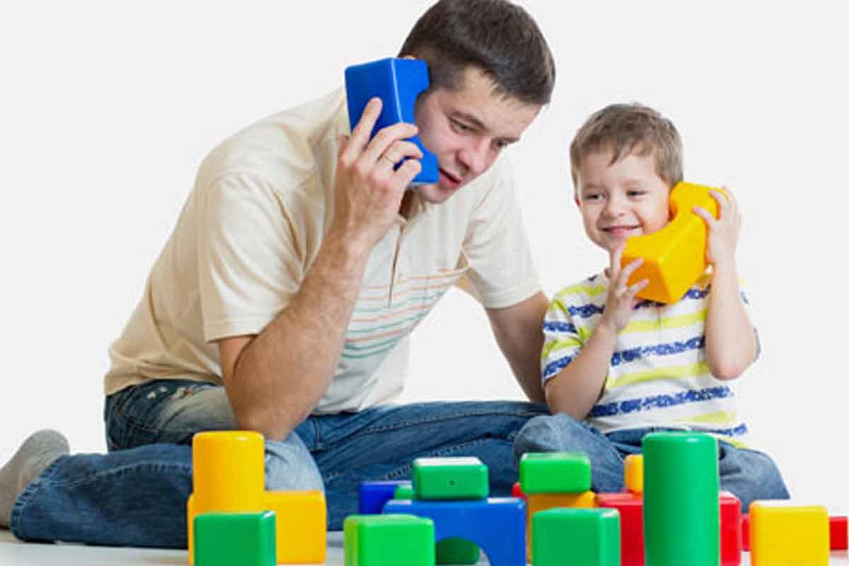 فضای جذاب خانه و سن بازی کودکان/ دکتر همتی