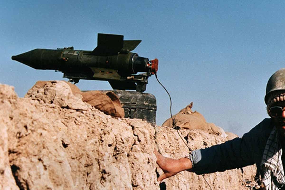 شلیک موشک ضدزره مالیوتکا در دفاع مقدس