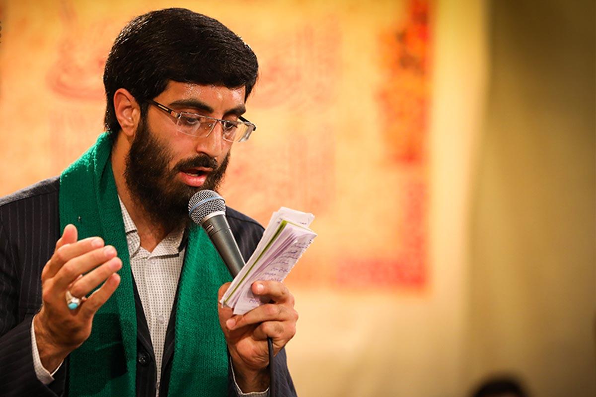 مداحی عید غدیر/ نریمانی: قبله و دین من علیه (سرود جدید)