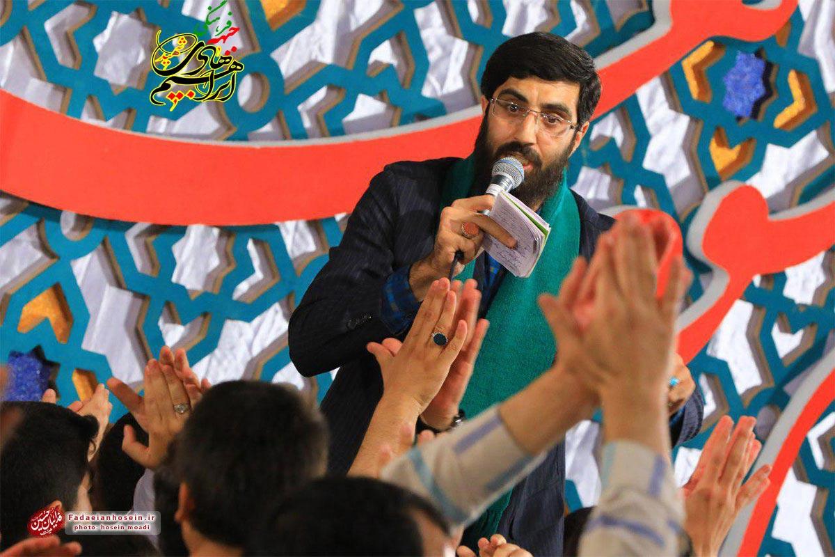 مداحی عید غدیر/ نریمانی: تو سر سبزی و دل من بیابون