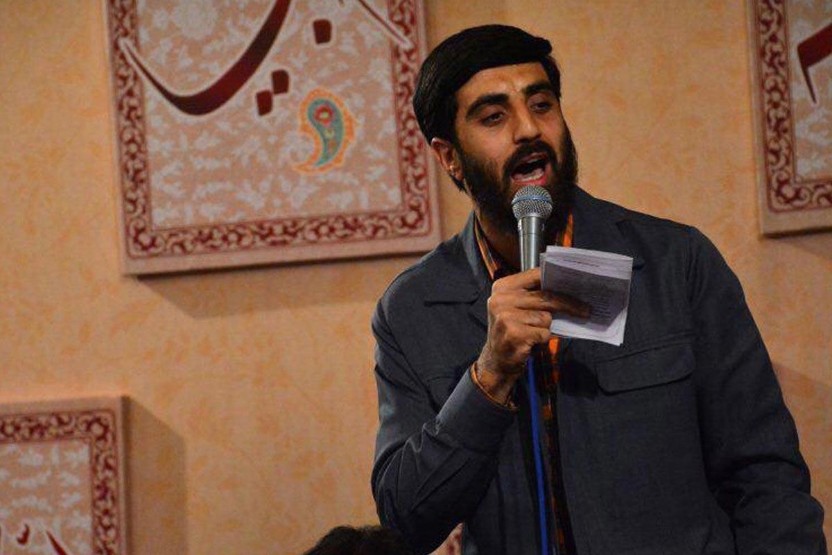 مداحی عید غدیر/ نریمانی: مینشیند روی لبها قل هو الله احد