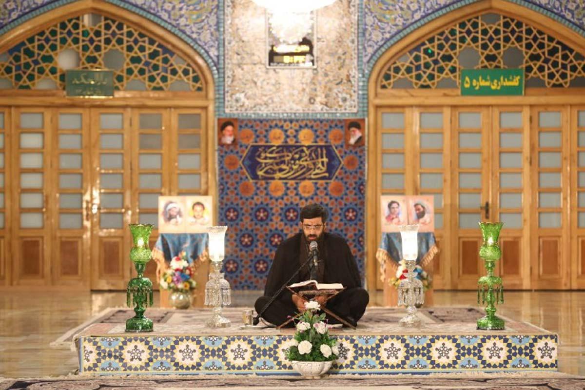 مداحی ماه رمضان 1399/ نریمانی: فرازی از دعای ابوحمزه ثمالی