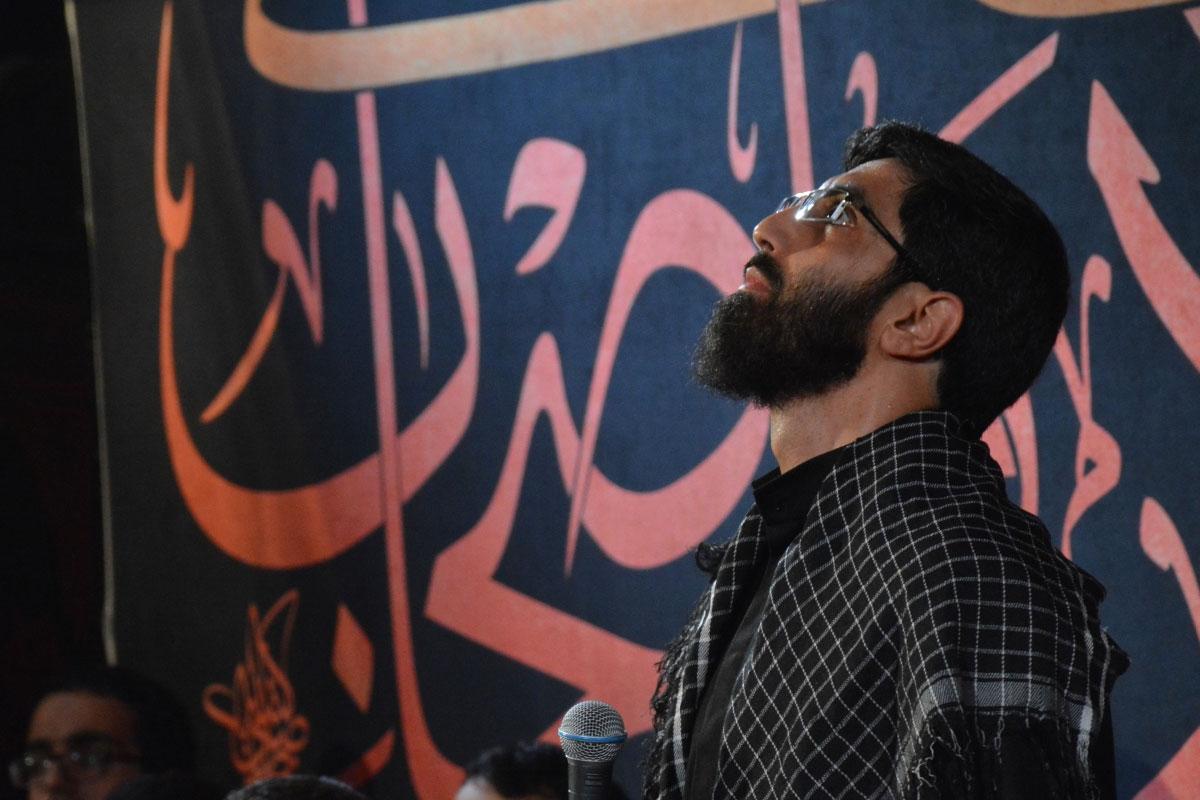 مداحی ماه رمضان 1399/ نریمانی: لباس پاره، تنت غم دار