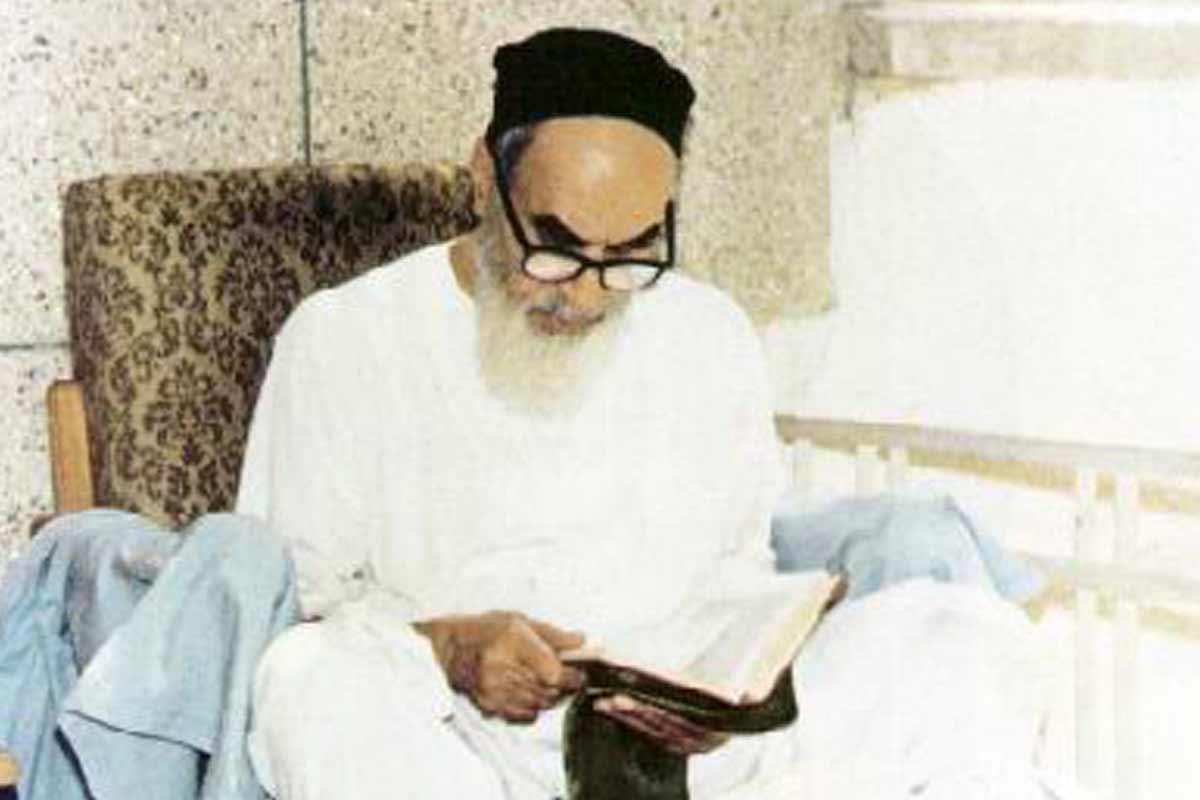 وصف پیامبر اکرم(ص) در کلام امام خمینی+ زیرنویس فرانسوی