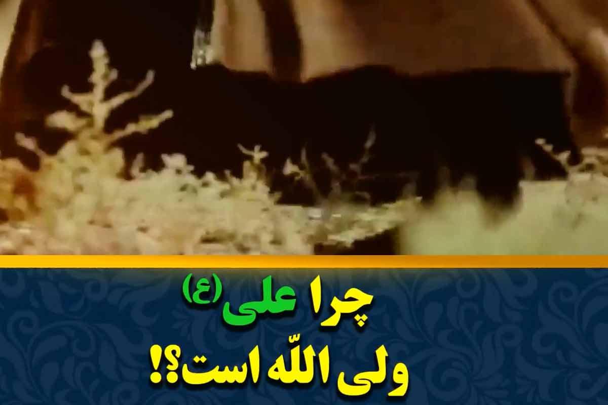 چرا علی(ع) ولی الله است؟/ استاد انصاریان