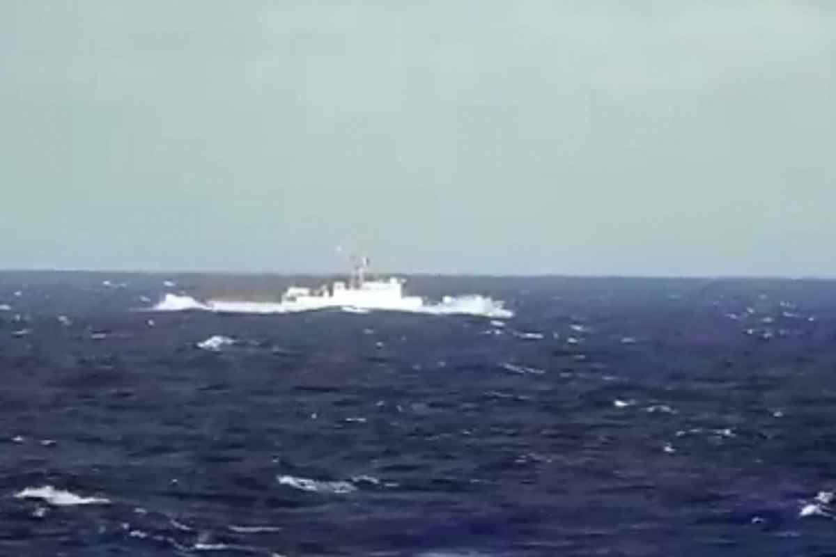 ناوشکن سهند در اقیانوس اطلس
