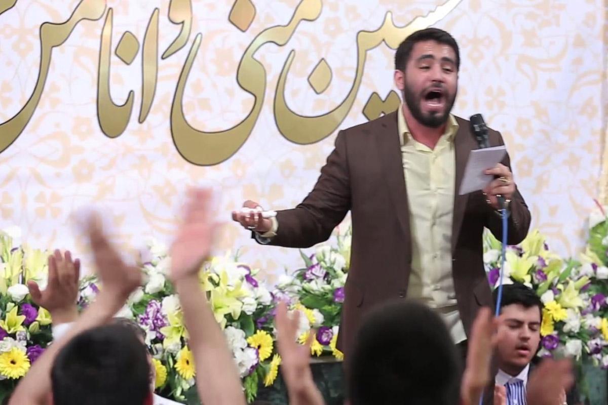 مداحی میلاد امام حسین(ع)/ طاهری: حالم امشب حال جنونه