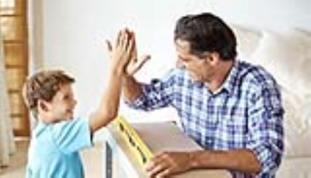 تربیت فرزند  تشویق