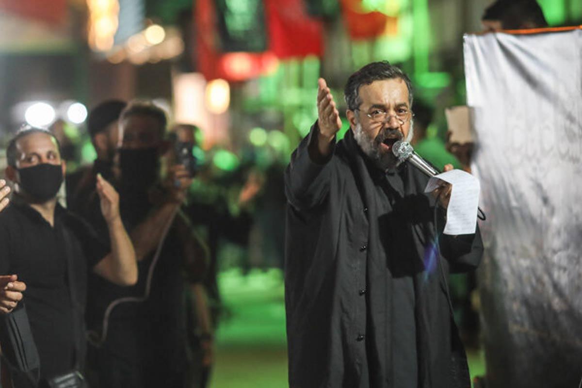 تکیه سیار حاج محمود کریمی در شب پنجم محرم 1399