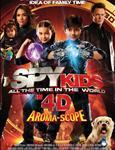 بچه های جاسوس تمام وقت در دنیای 4 بعدی (Spy Kids All the Time in the World in 4D)