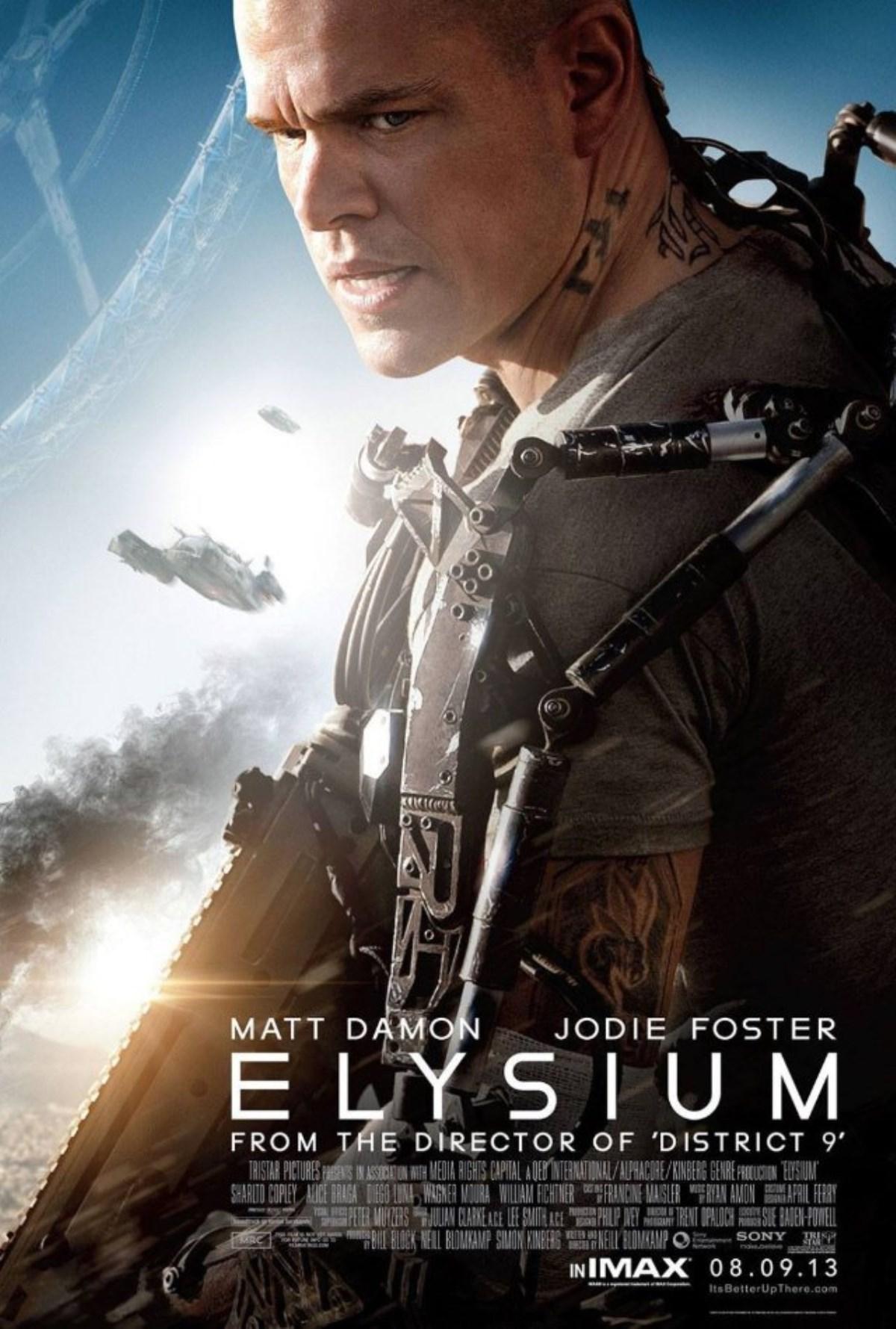 بررسی فیلم Elysium (بهشت)