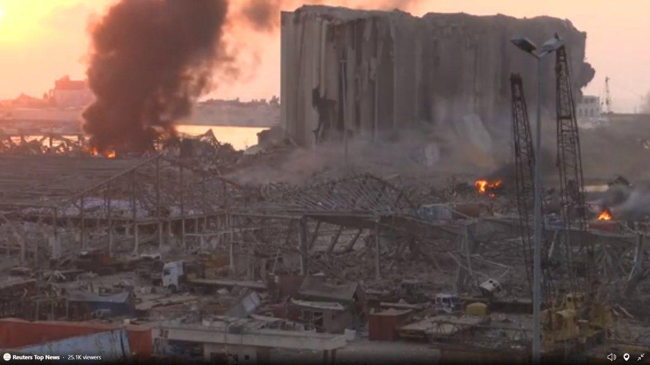 هدف از انفجاردر بندر بیروت چه بوده است / چه کسانی از انفجار بیروت سود میبرند؟