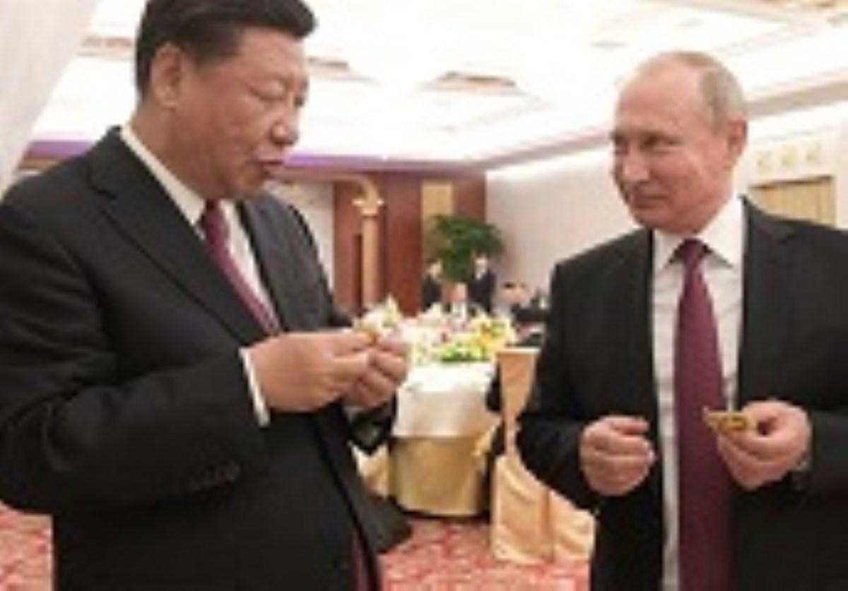 پوتین و چینگ آشپز شدند+ عکس