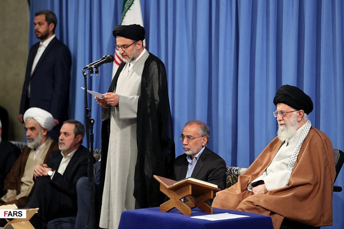 گزارش تصویری دیدار شرکت کنندگان در سیوششمین دوره مسابقات بینالمللی قرآن با رهبر معظم انقلاب