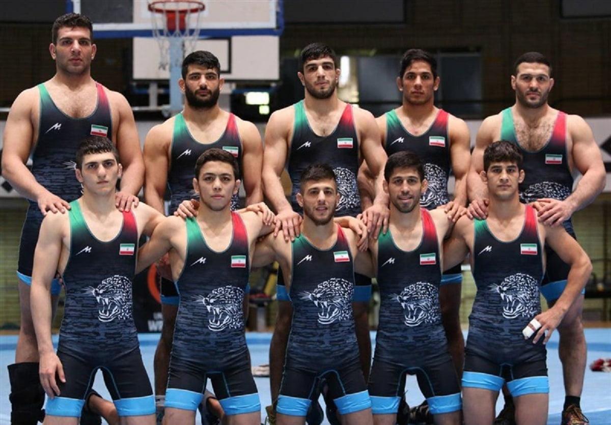 قهرمانی کشتی آزاد ایران در آسیا با 8 مدال رنگارنگ