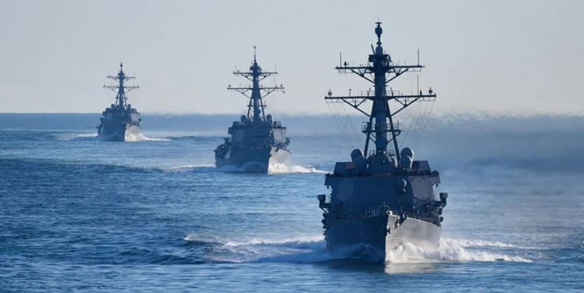 ائتلاف آمریکایی در خلیج فارس شروع به کار کرد