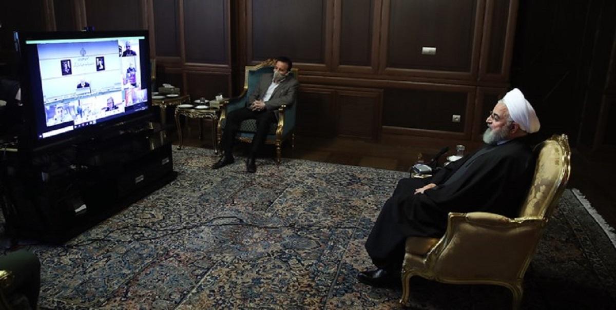 روحانی از رهبر انقلاب برای فرمان فعال شدن قرارگاه درمانی نیروهای مسلح قدردانی کرد