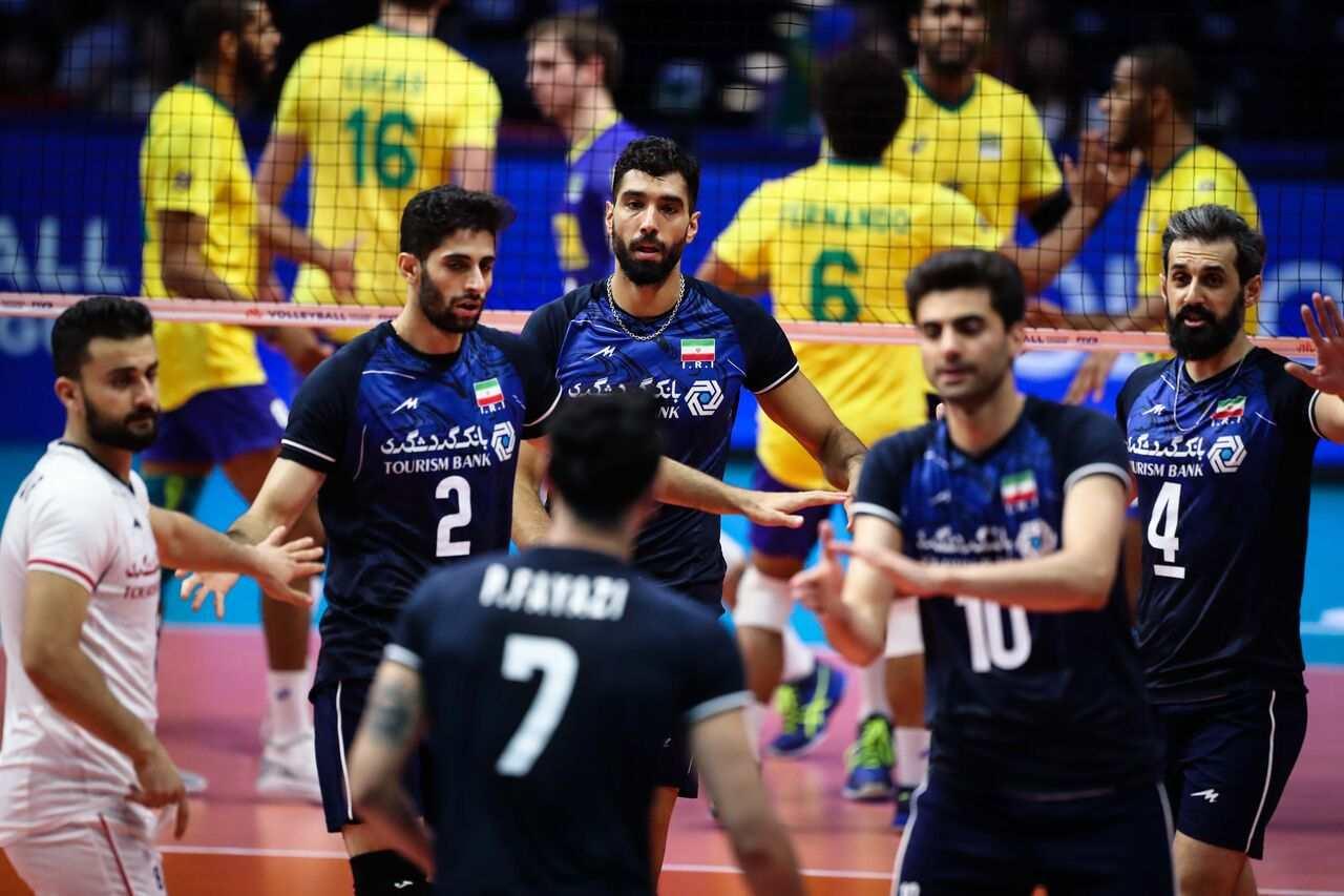 نفرات تیم ملی والیبال ایران برای هفته چهارم لیگ ملتها اعلام شد