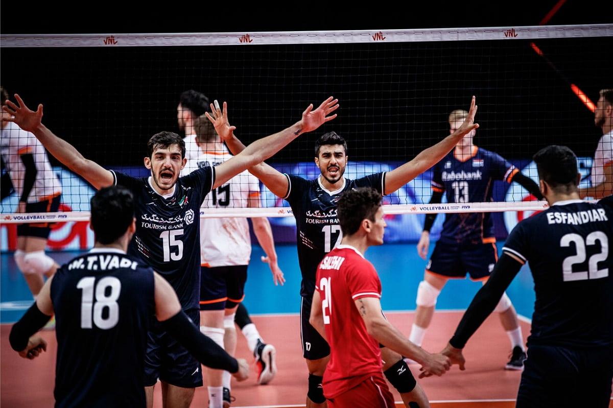 لیگ ملتهای والیبال  نخستین برد ایران با آلکنو مقتدرانه بود