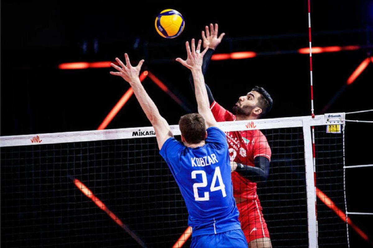 لیگ ملتهای والیبال| شاگردان آلکنو روی دور باخت