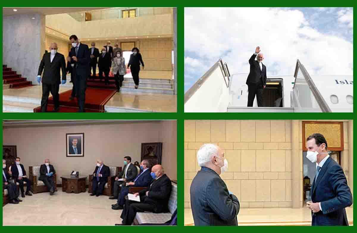 پنج هدف سفر دکتر ظریف به سوریه