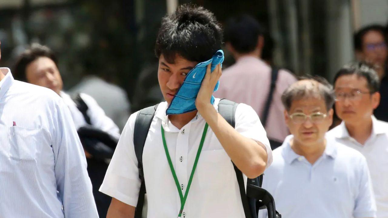 گرمای شدید هوا در ژاپن جان ۱۱ نفر را گرفت/ بیش از 5000 نفر تحت درمان در بیمارستان