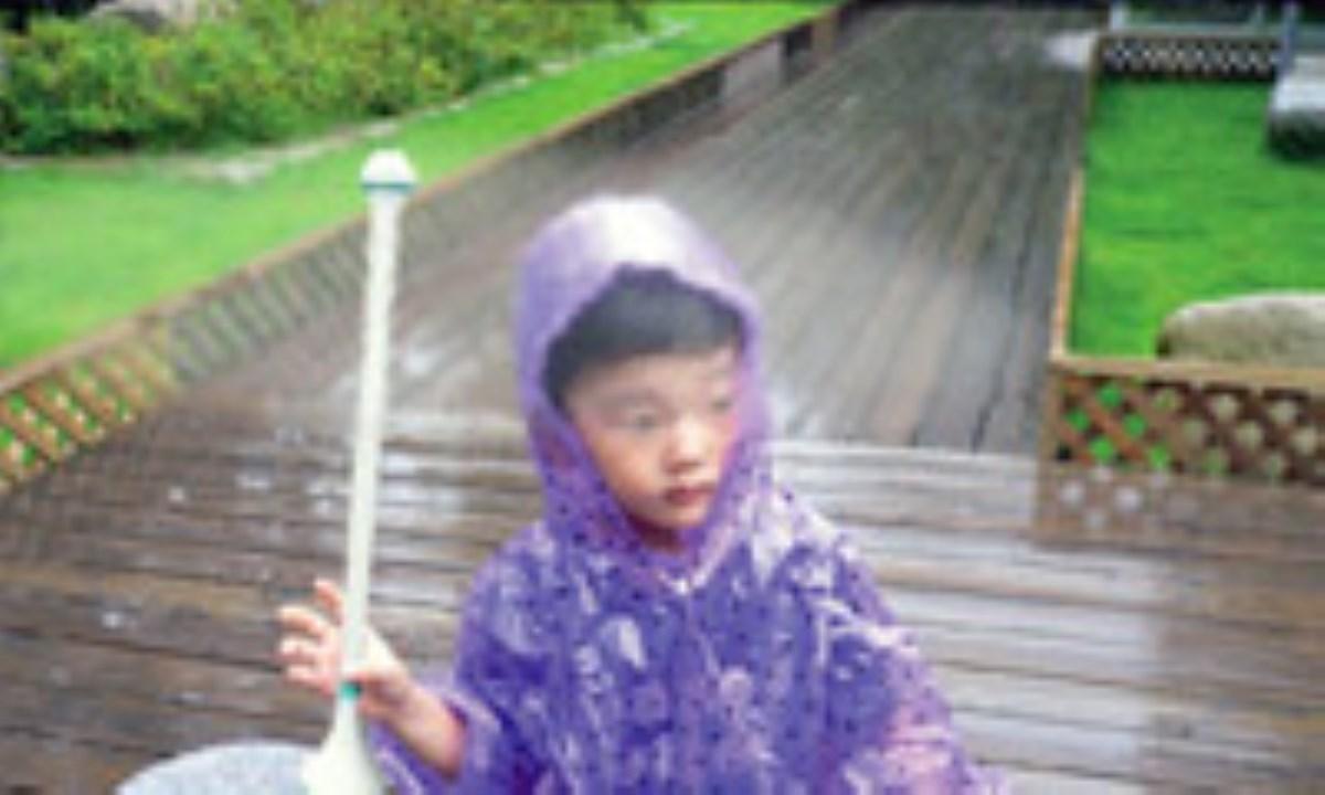 چتر نامرئی که شما را از باران حفظ میکند
