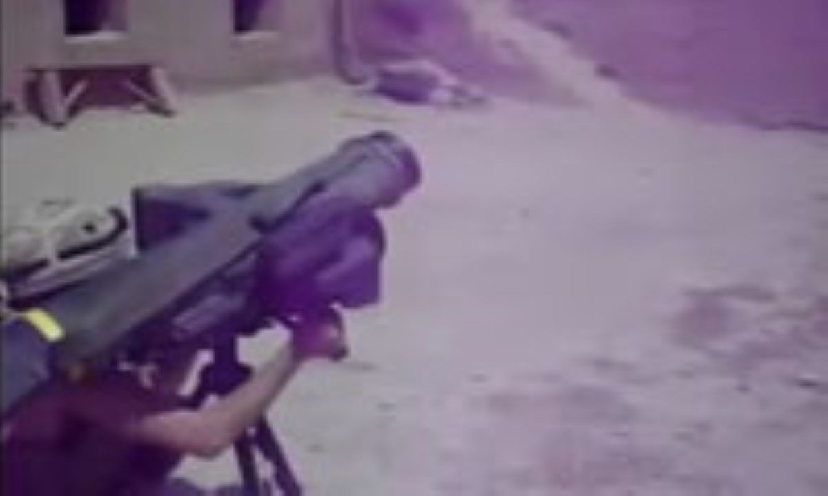 حمله موشکی داعش به سمت ایران !! + فیلم