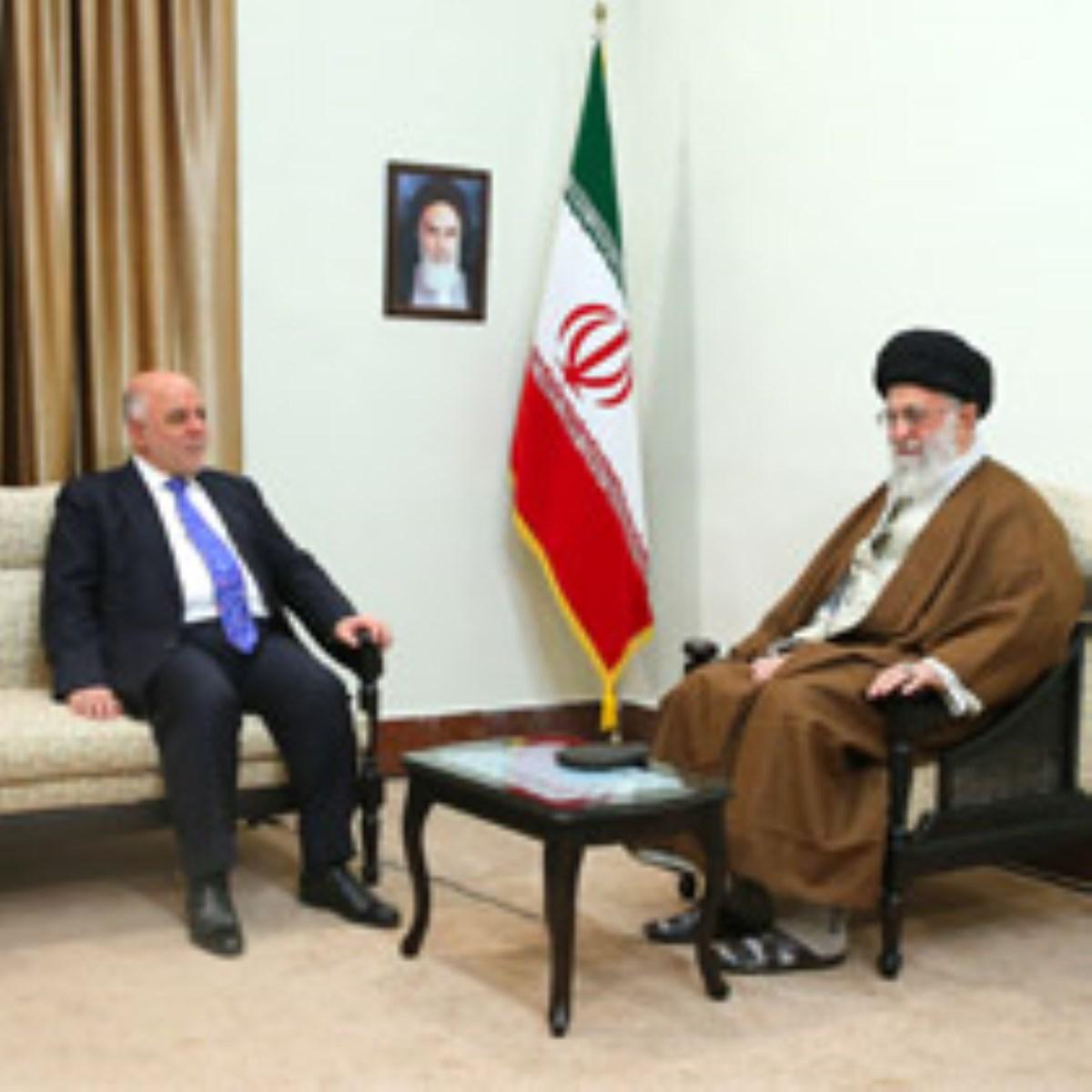 گزارش تصویری / دیدار نخستوزیر عراق با رهبر انقلاب