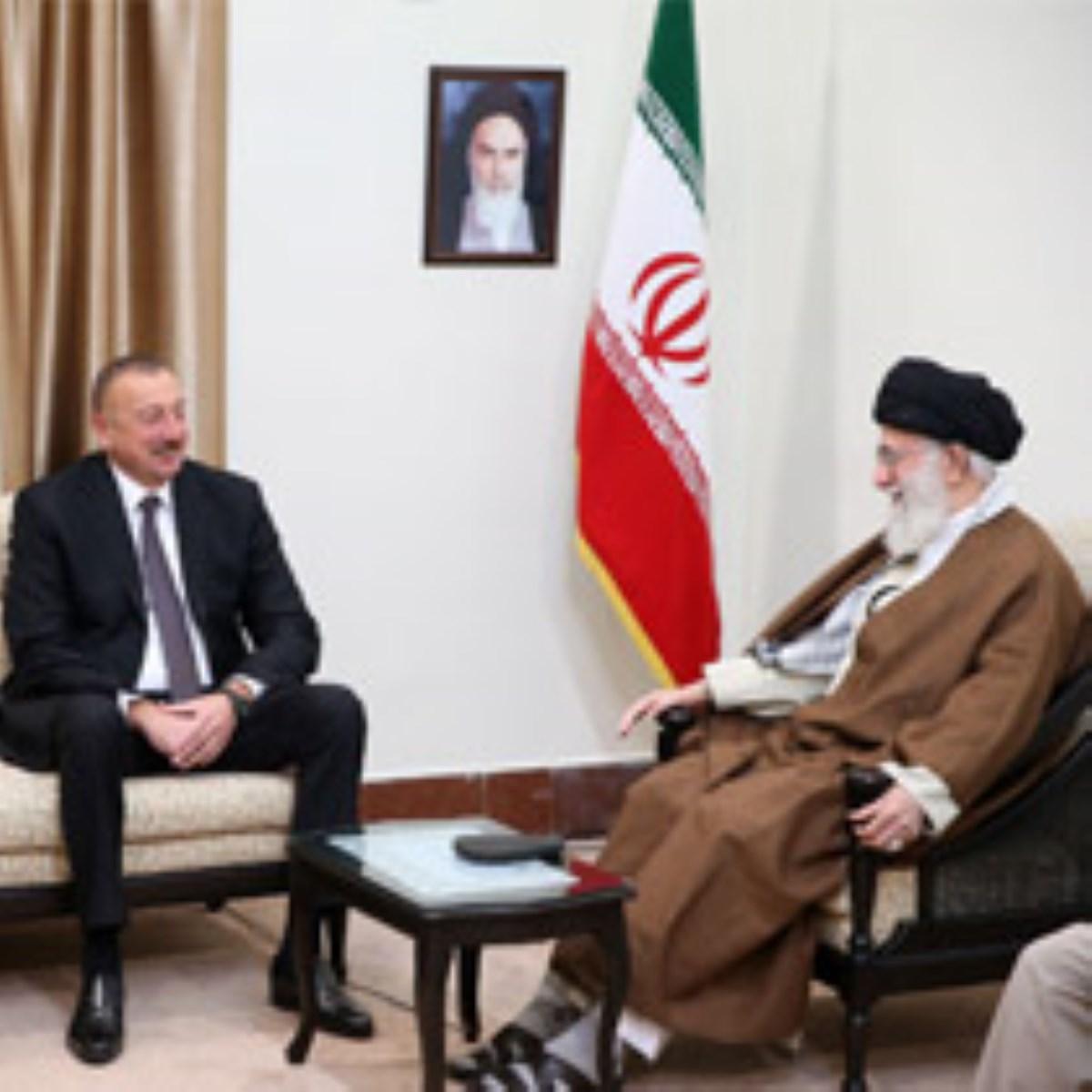 گزارش تصویری / دیدار رئیس جمهوری آذربایجان با رهبر انقلاب
