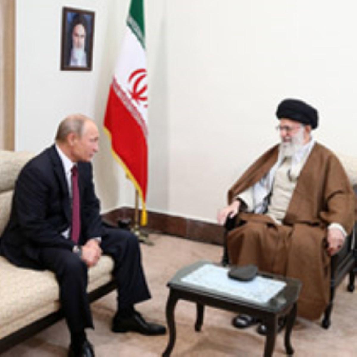 گزارش تصویری / دیدار رئیسجمهوری روسیه و هیات همراه با رهبر انقلاب