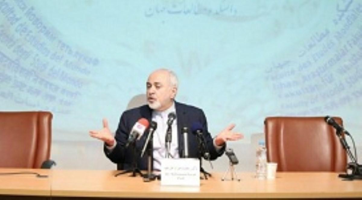 محمدجواد ظریف: نمیتوانیم پشت سر مقاومتِ مردم قایم شویم