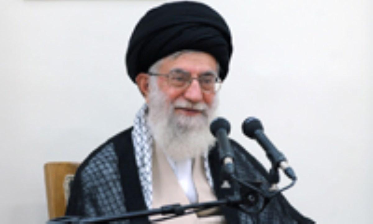 رهبر معظم انقلاب اسلامی در دیدار دست اندرکاران کنگره ملی شهدای نجف آباد :