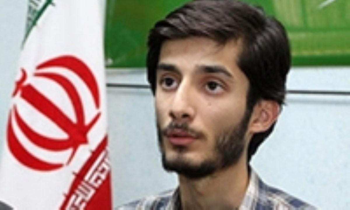 حسین احمدی سخا، گرافیست جوان در گذشت