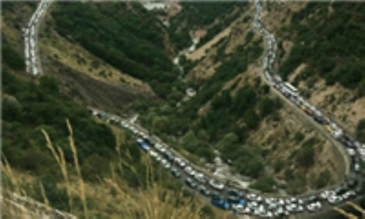یکطرفه شدن محور کندوان از کرج تا مرزنآباد / تردد کامیون در جاده قدیم رشت-قزوین ممنوع شد
